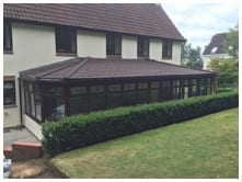 robinsons tiled roof conservatories review image 2