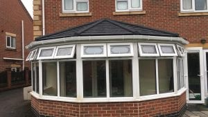 ella and steven boscombe tiled roof conservatory review