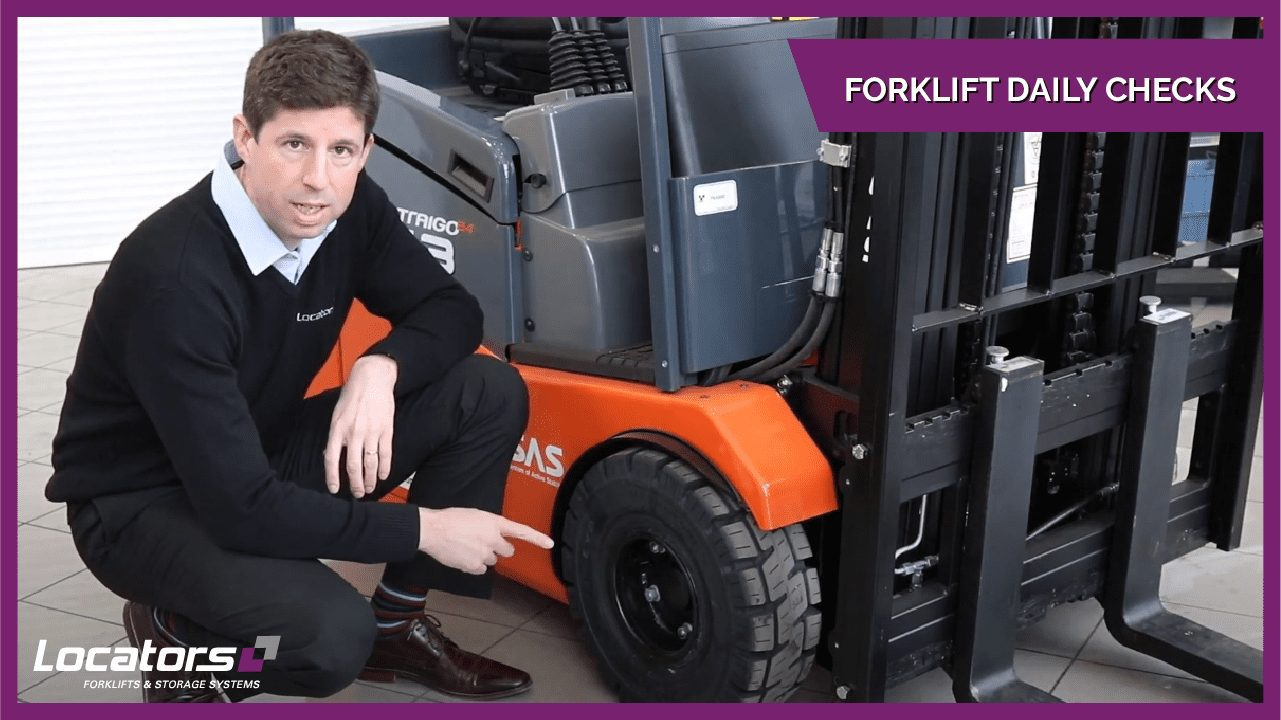 staff doing daily forklift checks video guide thumbnail