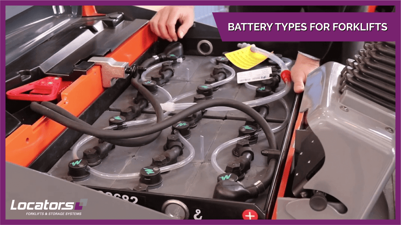 Battery Types For Forklifts